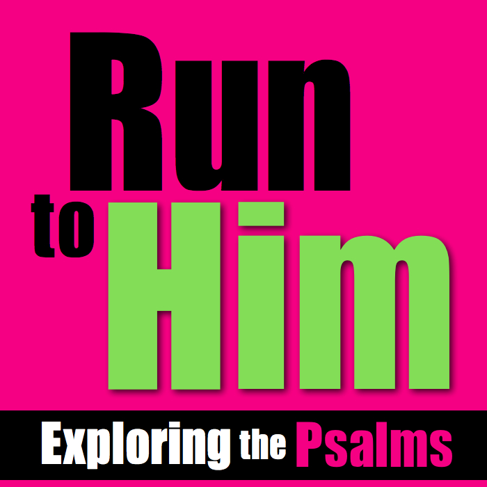 Psalms Bible Study, How to run to God, Psalms study