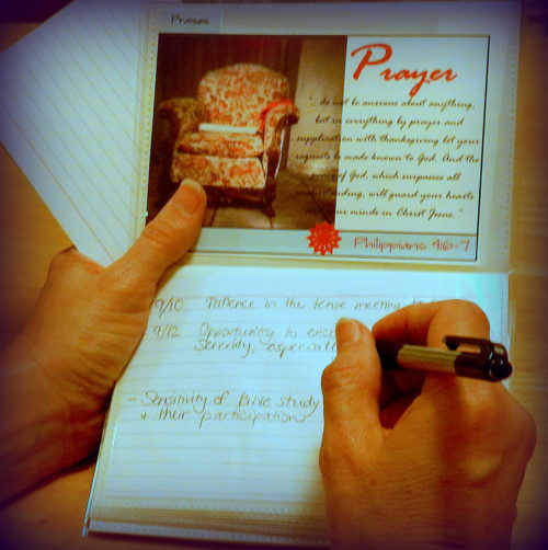 4x6 Prayer Album