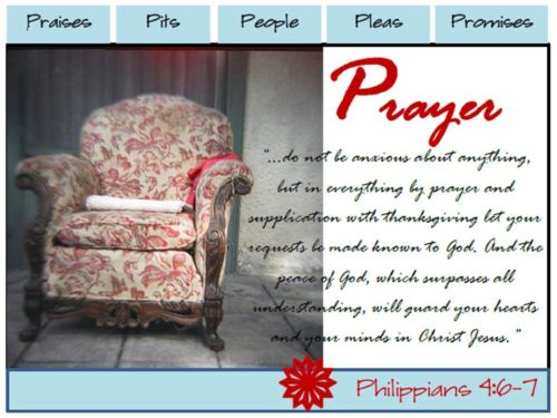 Prayer Album Card