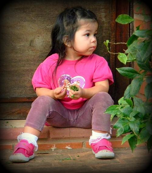 Paraguayan child