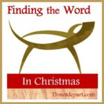 Finding the word in Christmas