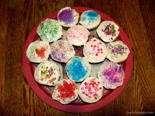 Jesus Party Cupcakes