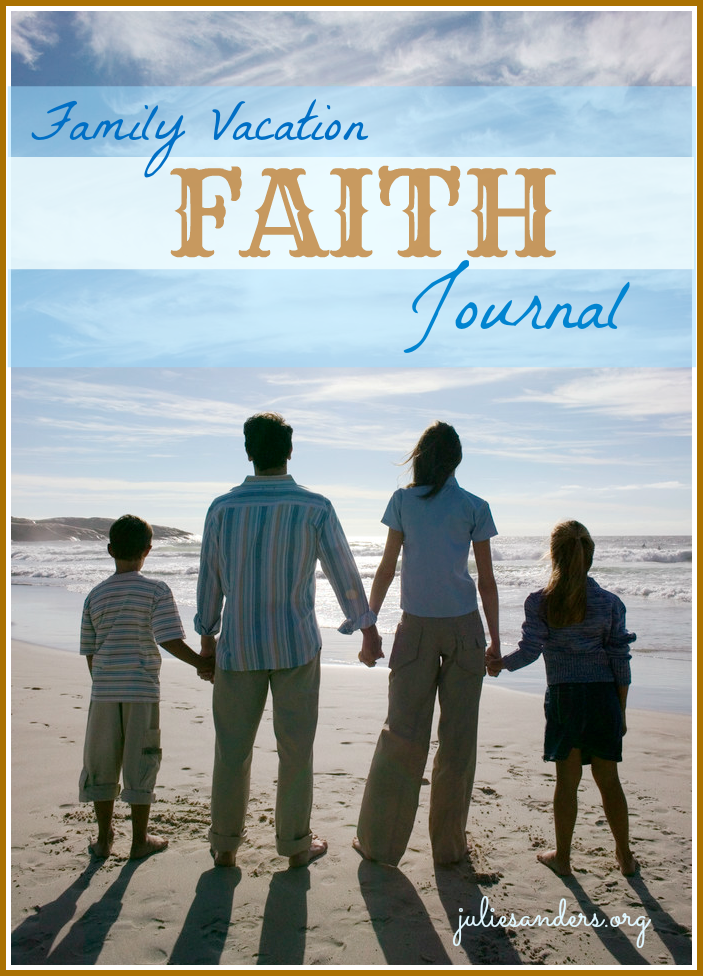 Family Vacation Faith Journal