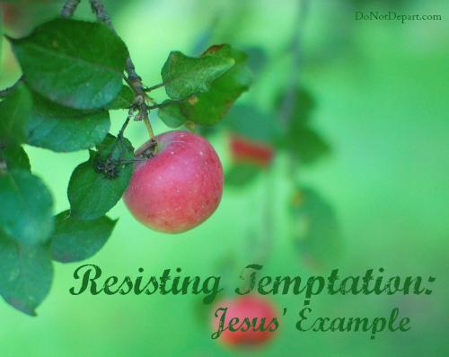 Resisting Temptation: Jesus' Example