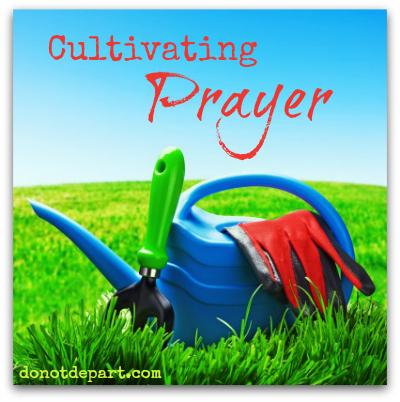 Cultivating Prayer - donotdepart.com
