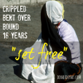 crippled woman set free