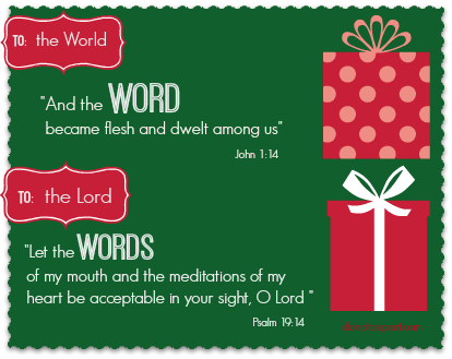 Celebrate the Word with our words