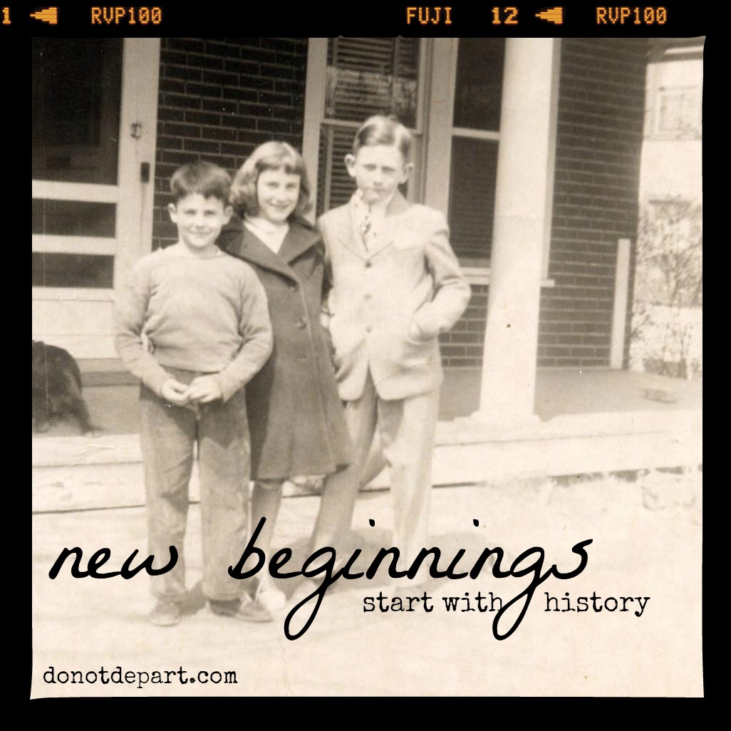 New beginnings start with history