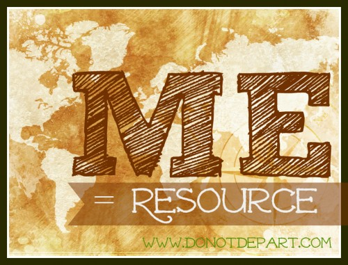 The Missional Resource of Me