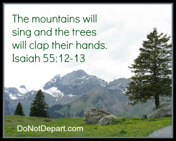 Singing Mountains and Clapping Trees