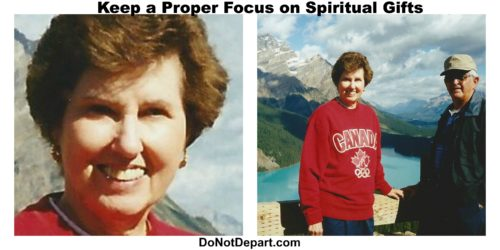 Spiritual Gifts focus