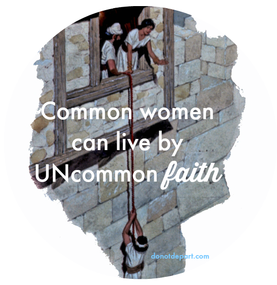 Rahab Uncommon Faith