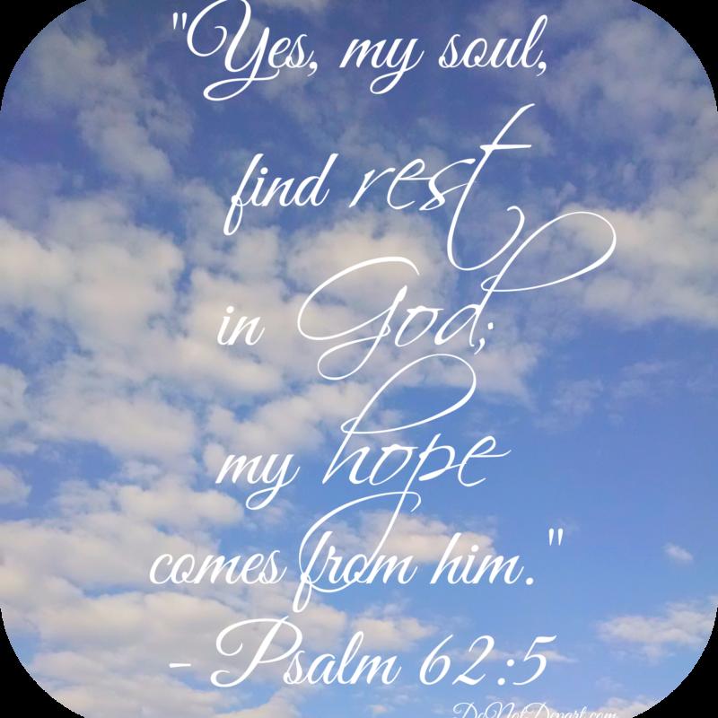 8 Verses on Rest
