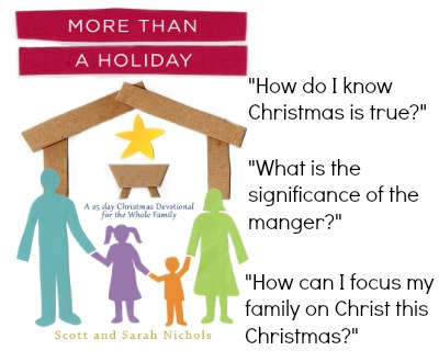 More Than a Holiday - a family Christmas devotional!