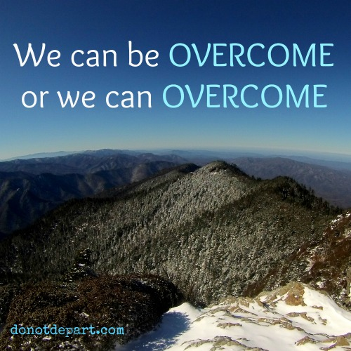 We can overcome
