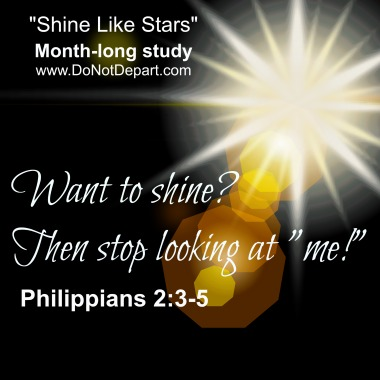 "Want to Shine? Then Stop Looking at ""Me!"""