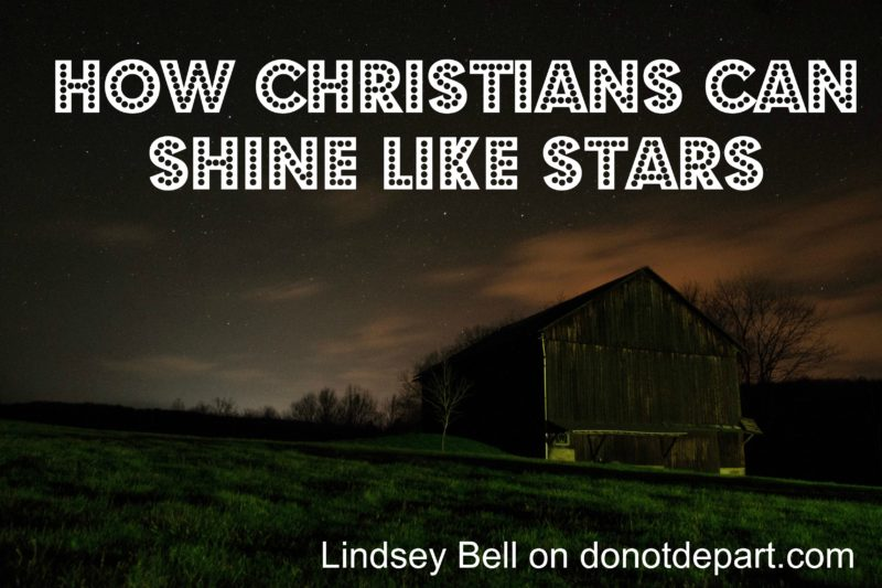 How Believers Shine Like Stars in the Universe