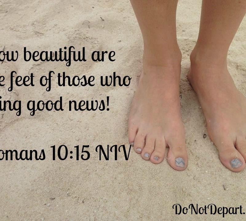 Romans 10:15 Shareable Graphic