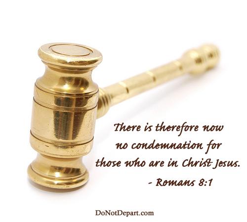 No Condemnation – Romans 8:1