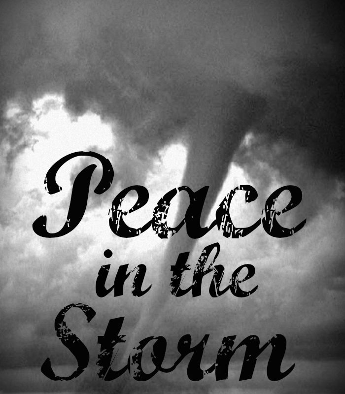 Why Abide: Peace in the Storm