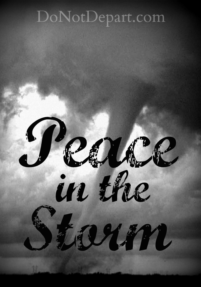 Peace in the Storm - Why We Abide in the Word