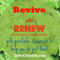 Revive and Renew
