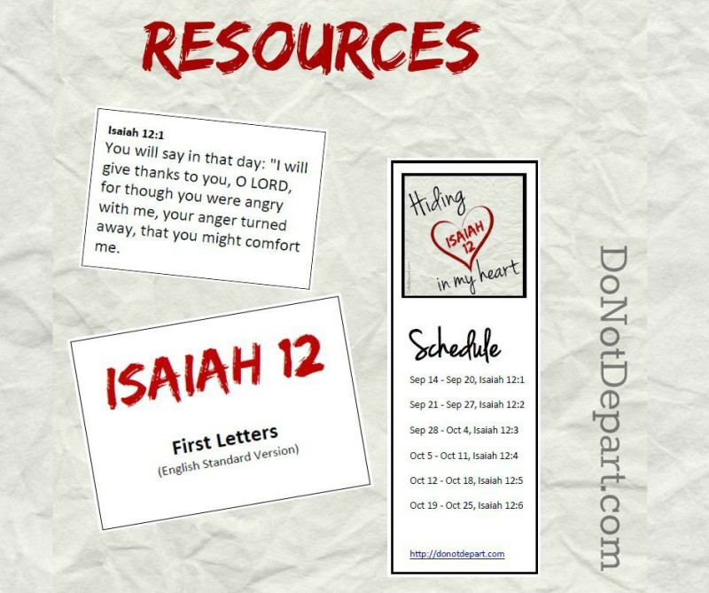 Resources-Isaiah-12