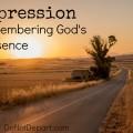 Depression – Remembering God's Presence