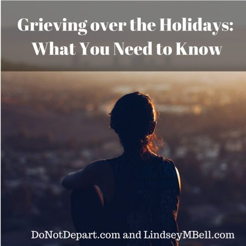 A few things you need to remember if you're grieving this holiday season