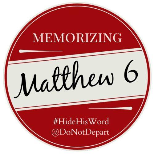 Memorizing-Matthew-6