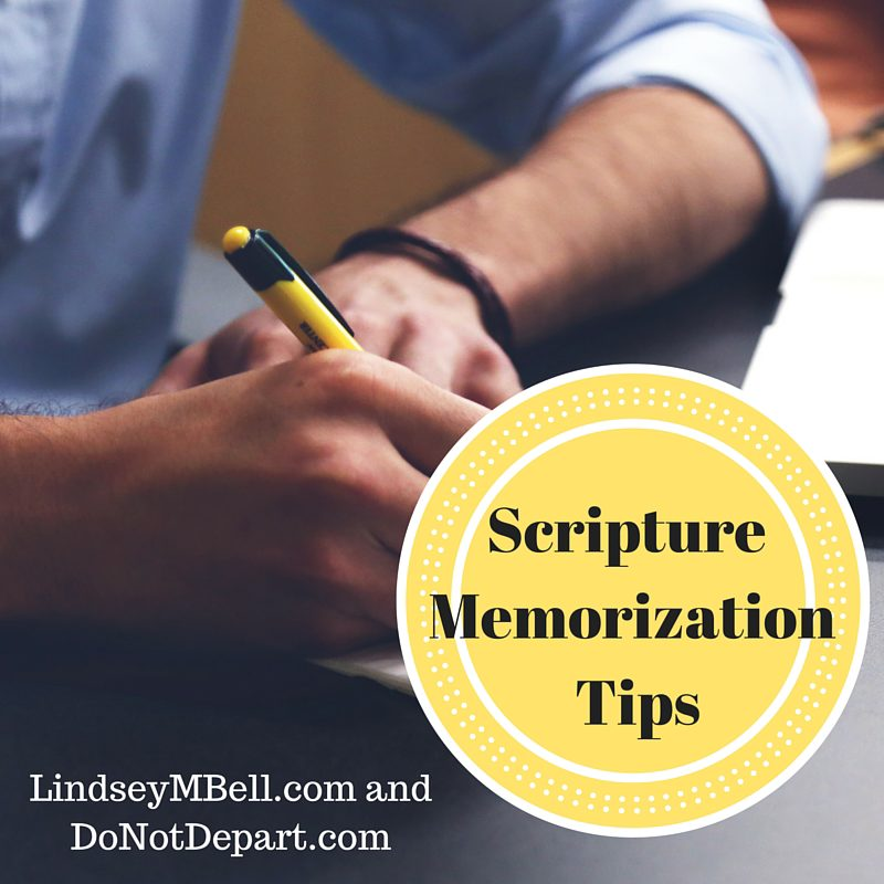6 Scripture Memorization Tips to Help You Abide In God's Word