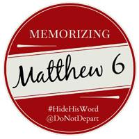 Memorizing Matthew 6