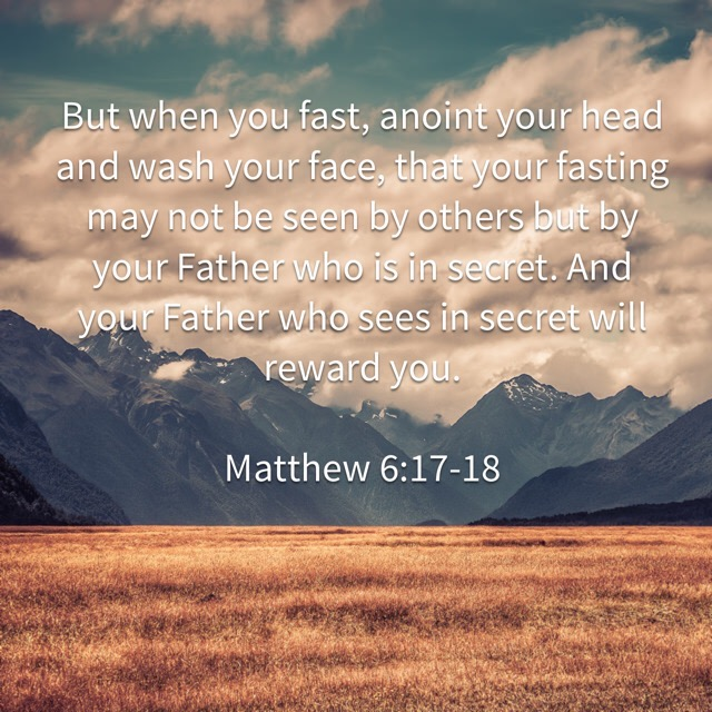 Don't be a righteous show-off – Memorizing Matthew 6:17-18