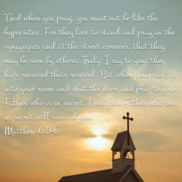 Remember Who You're Praying To – Memorizing Matthew 6:5-6