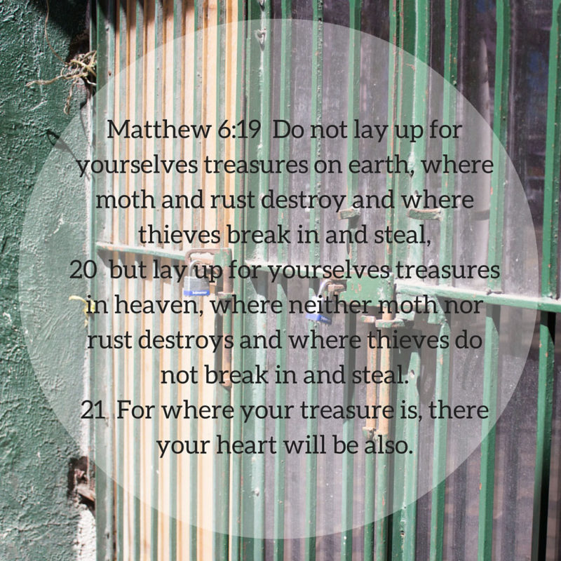 You Are Rich – Memorize Matthew 6:19-21 with Us