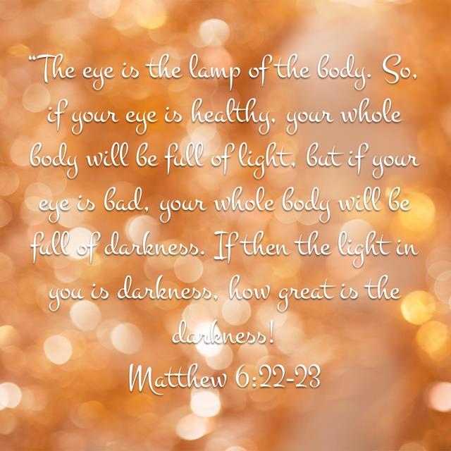 Keep the Light Bright – Memorizing Matthew 6:22-23