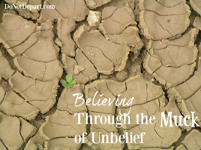 Believing Through the Muck of Unbelief - DoNotDepart.com