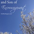 A High Priest and Son of Encouragement