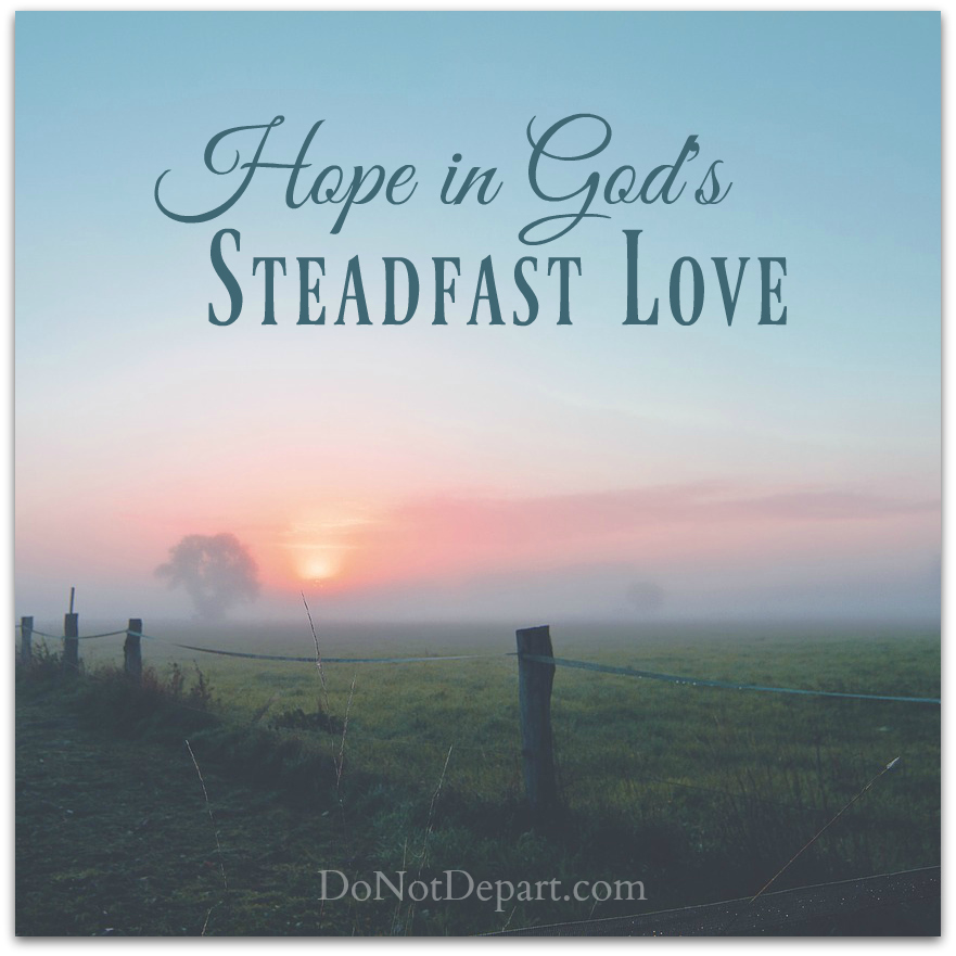 what does steadfast love mean in the bible
