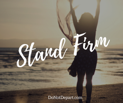 Stand Firm - Why Sound Theology Matters