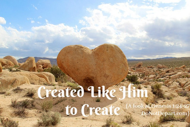 Created Like Him to Create