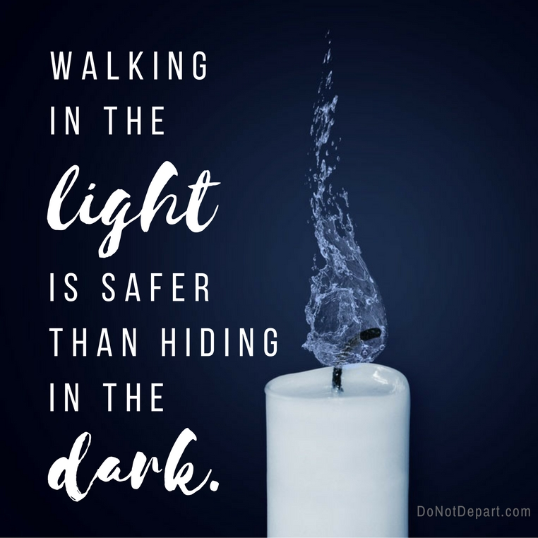 Are You Scared of the Light?