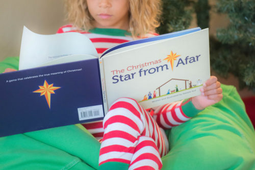 Learn more about The Christmas Star From Afar, a Christmas tradition that helps kids focus on the true meaning of Christmas