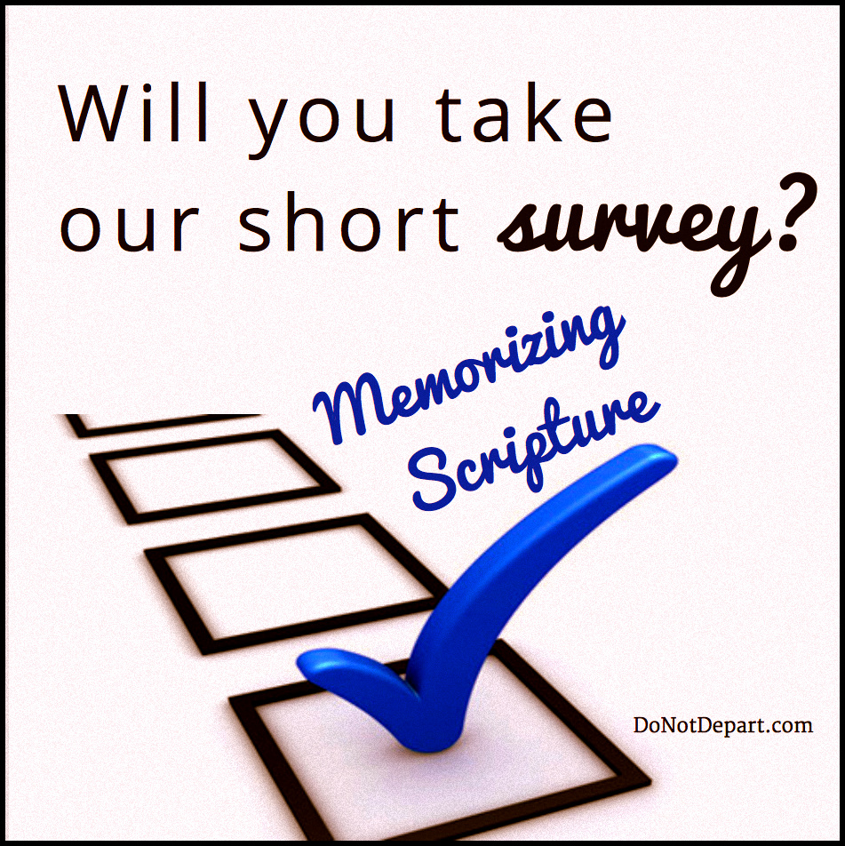 take-our-survey-memorizing-scripture