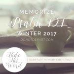 HideHisWordPsalm121