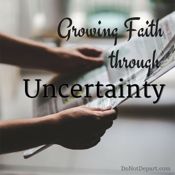 Three Resolutions to Grow Faith through Uncertainty