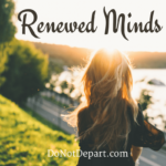 Be transformed by the renewing of your mind! Jesus Christ through His Word and the power of the Holy Spirit can help you adjust your thinking. Your mental attitudes impact how you plan and how you process what happens in your life. Renew your mind to align with Christ!