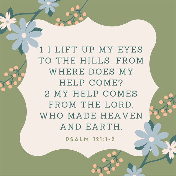 Get Your Help Here {Memorizing Psalm 121:1-2}