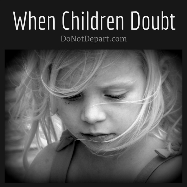 When Children Doubt