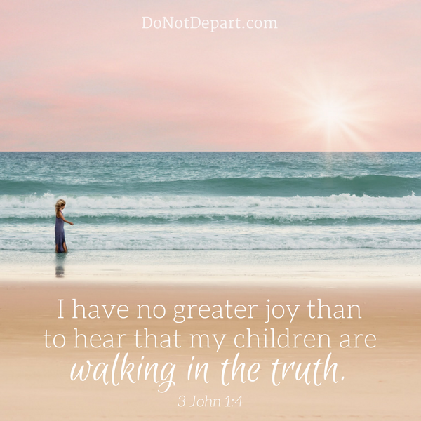 Walking in Truth Means Love in Action